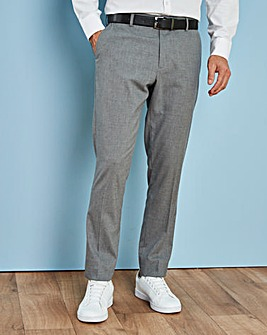 Grey Stretch Trousers