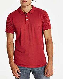 Burgundy Short Sleeve Polo R