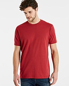 Capsule Burgundy Crew Neck T-shirt R