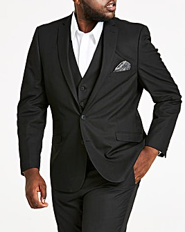 Black Tonic Suit Jacket