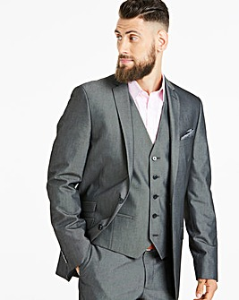Charcoal Tonic Suit Jacket