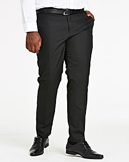 Black Tonic Suit Trousers