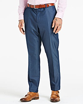 W&B London Blue Tonic Suit Trousers
