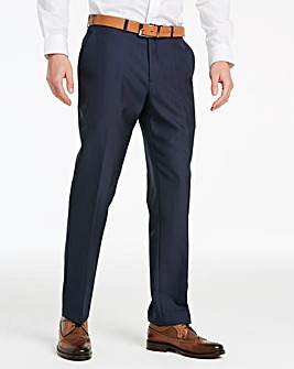 Navy David Value Suit Trousers