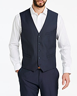 Navy Value Suit Waistcoat Regular