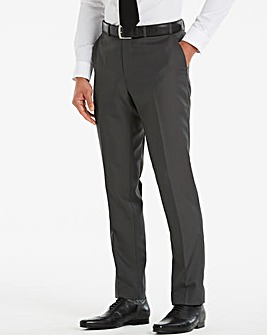W&B London Grey Slim Value Trousers 31in