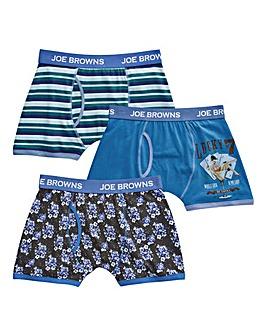 Joe Browns Pack of 3 Hipsters