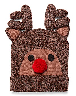 Capsule Novelty Rudolph Hat