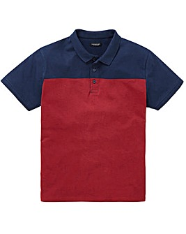 Capsule Berry Colour Block Polo R