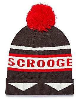 Capsule Novelty Scrooge Bobble Hat