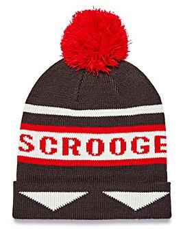 Capsule Novelty Scrooge Bobble Hat