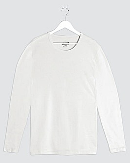 White Thermal L/S T-shirt