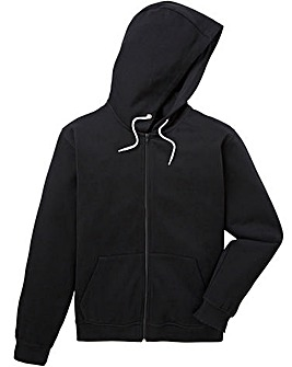 Capsule Black Full Zip Hoody R