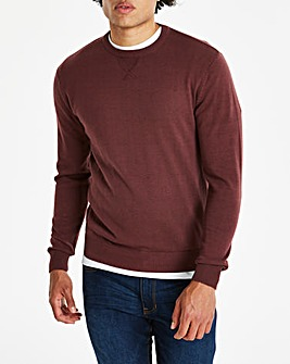 Capsule Wine Crew Neck Cotton Jumper R