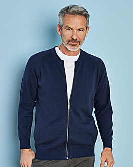 Navy Cotton Bomber