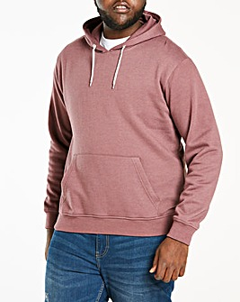Dark Pink Over Head Hoody Long