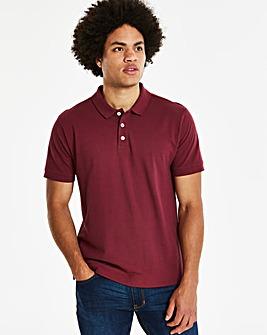 Berry Short Sleeve Polo R