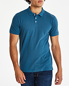 Dark Teal Short Sleeve Polo R