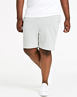 Grey Fleece Jog Shorts