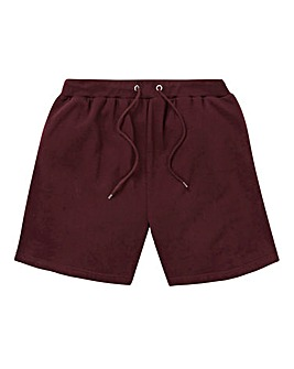 Capsule Wine Fleece Jog Shorts