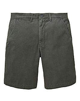 Dark Grey Stretch Chino Shorts