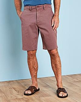 Capsule Dark Pink Stretch Chino Shorts