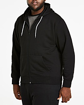 Black Full Zip Hoody R
