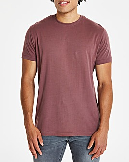 Capsule Dark Pink Crew Neck T-shirt R