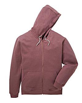 Capsule Dark Pink Full Zip Hoody L