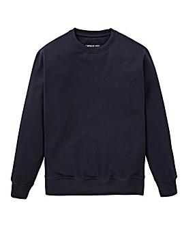 Capsule Navy Crew Neck Sweatshirt R