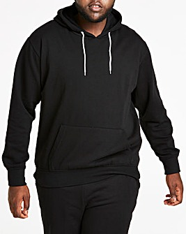 Black Over Head Hoody