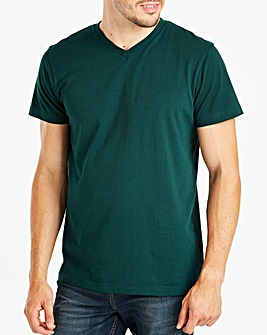 Capsule Green V-Neck T-shirt L