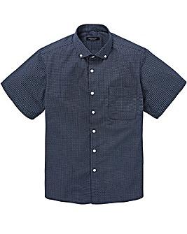 Navy S/S Printed Shirt R