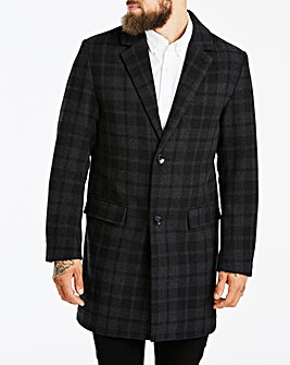 W&B London Check Coat