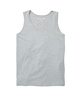 Capsule Grey Marl Basic Vest L