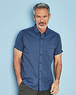 Capsule Denim S/S Oxford Shirt R