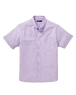 Capsule Lilac S/S Oxford Shirt L