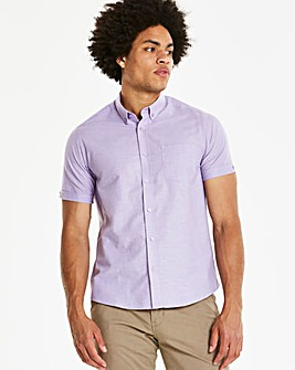 Capsule Lilac S/S Oxford Shirt R