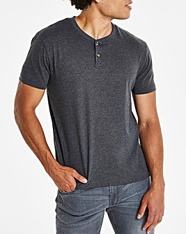 Charcoal Grandad T-shirt Regular