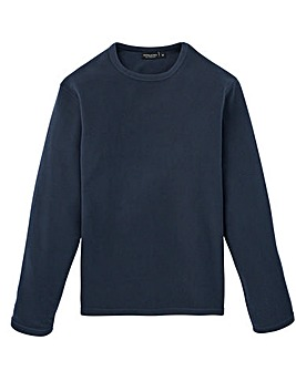 Capsule Navy Crew Neck Fleece R