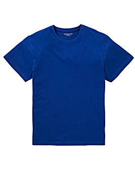 Capsule Bright Blue Crew Neck T-shirt L