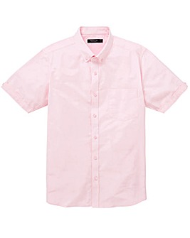 Capsule Baby Pink S/S Oxford Shirt L