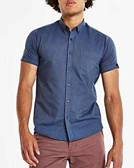 Capsule Denim S/S Oxford Shirt L