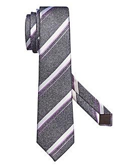 Capsule Charcoal Stripe Tie