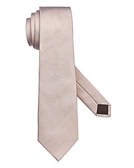 Capsule Plain Taupe Tie