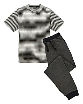 Capsule Grey Jersey PJ Set