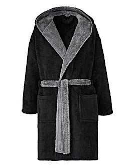 Black Fleece Dressing Gown