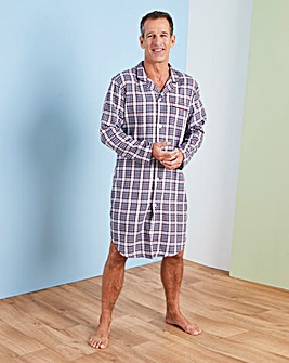 Capsule Wine Check Nightshirt