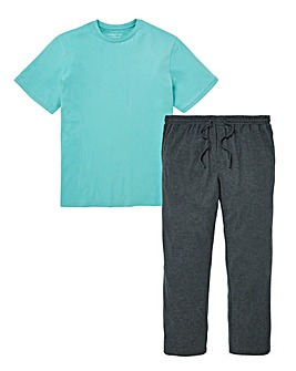 Blue/Grey Pyjama Set