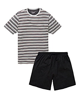 Capsule Stripe Jersey Short PJ Set